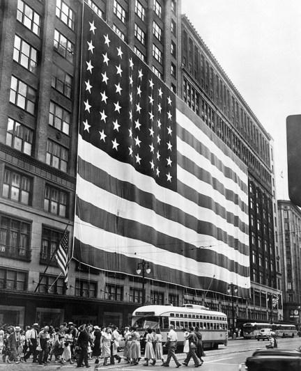 Hudson's Department Store - Detroit