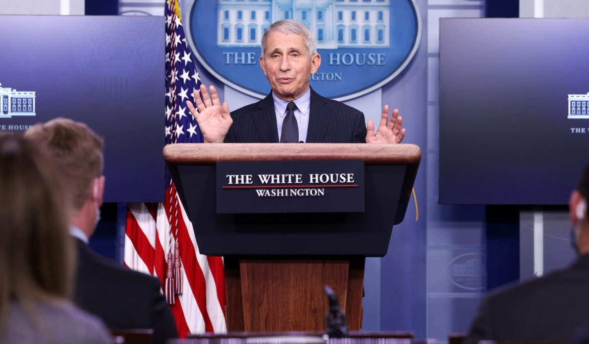 Coronavirus: Anthony Fauci Is a Public Health Official, Not Our Parent