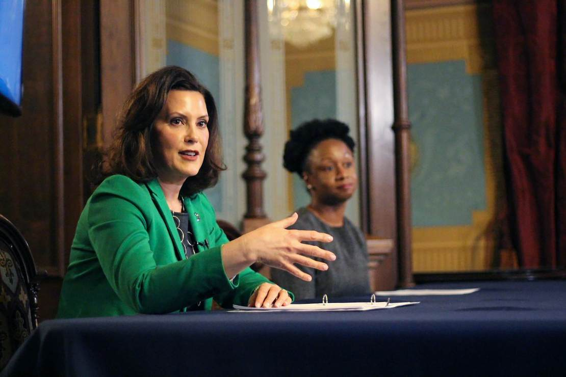Whitmer Contiues Assault On Guns In Capitol