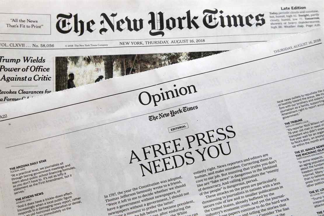New York Times Dismisses a Veteran Reporter Over Insane Identity Politics Standards