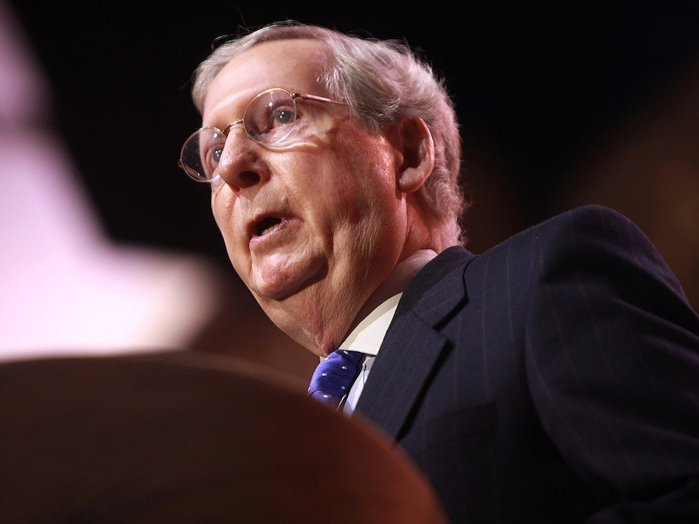 Mitch McConnell Doesn't Care If The Election Was Tainted, But You Should
