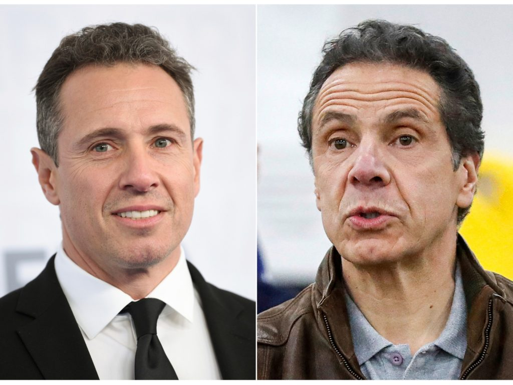 CNN Reinstates Ban on Andrew Cuomo Covering His Brother