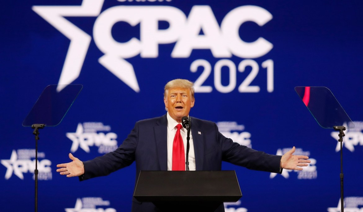 Trump Wins CPAC Straw Poll, Ron DeSantis Runner-Up