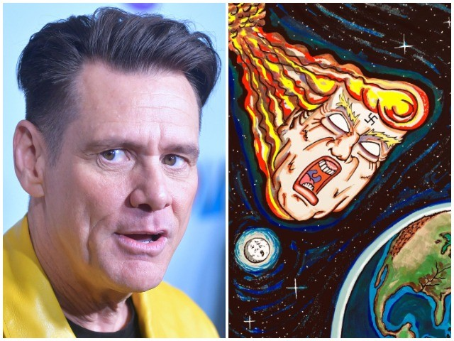 Jim Carrey (Again) Says He's Done Making Angry Political Cartoons