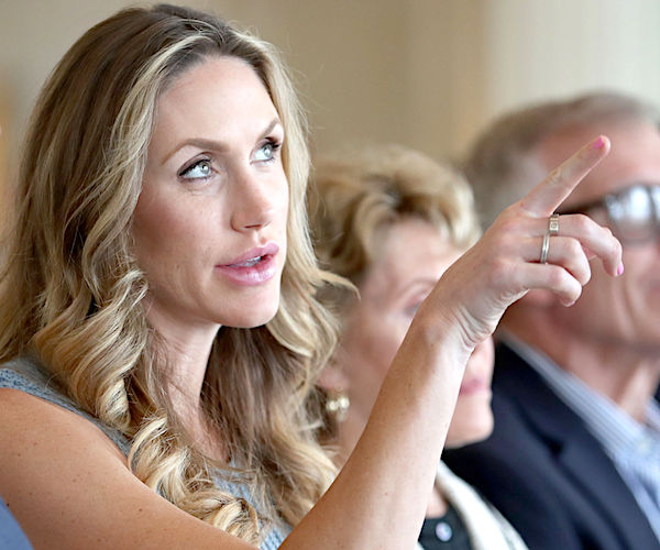 Lara Trump to Newsmax TV: 'No Low Too Low for Folks on the Left'