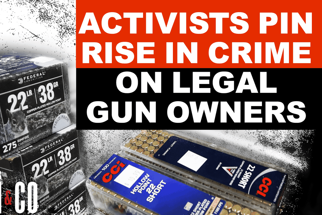 Anti-Gun Activists Try To Pin Rise In Crime On Legal Gun Owners – Bearing Arms