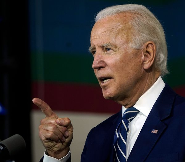 Biden to the Nation: We're 'Turning Peril Into Possibility'