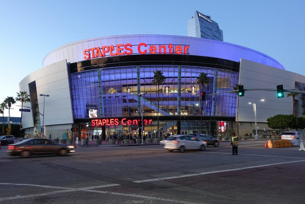 Staples Won't Say If It Respects Police Who Protect LA Lakers Arena