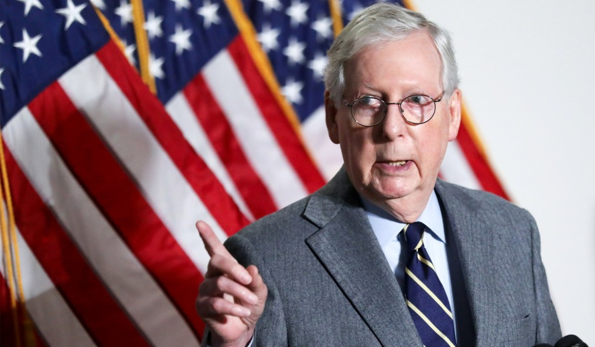 Mitch McConnell Dismisses Trump Criticism of GOP Leadership