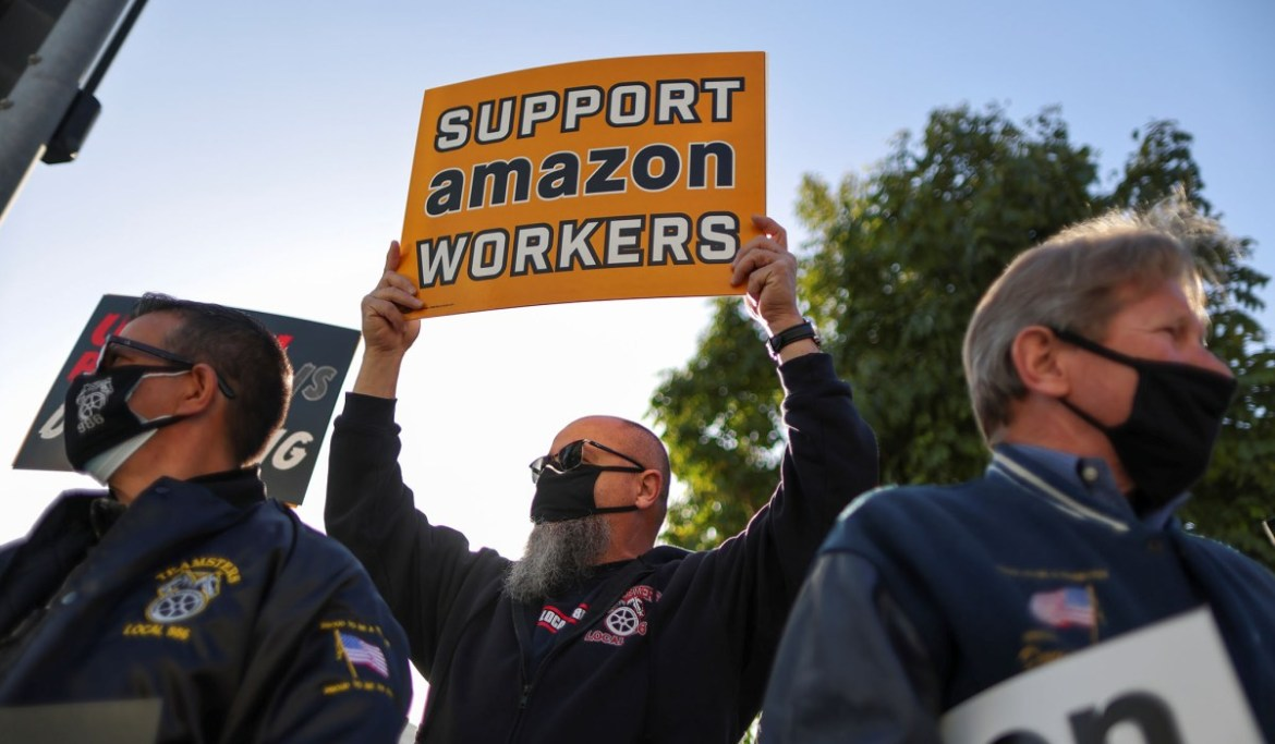 Amazon Union Effort Defeated | National Review