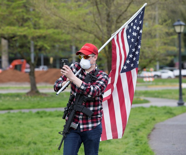 Washington State Bans Open-Carry Guns, Weapons at Capitol and Demonstrations