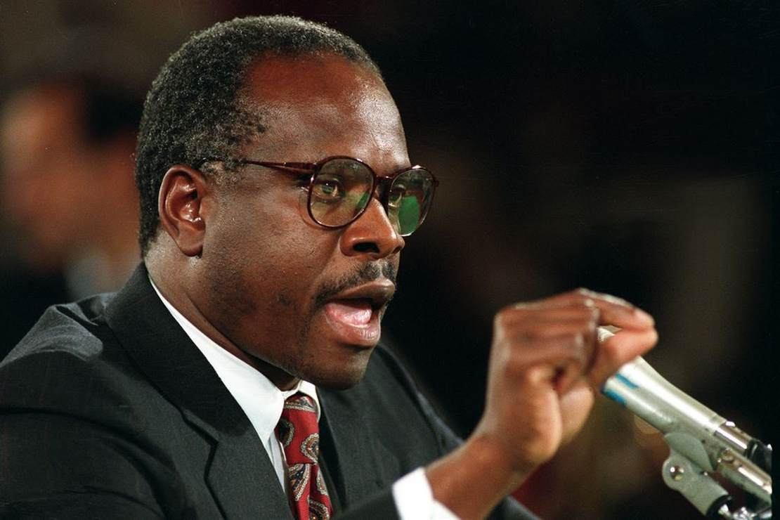 Classic 'Never Bend a Knee' Moment From Clarence Thomas' SCOTUS Hearing Resurfaces Just When We Need It – RedState