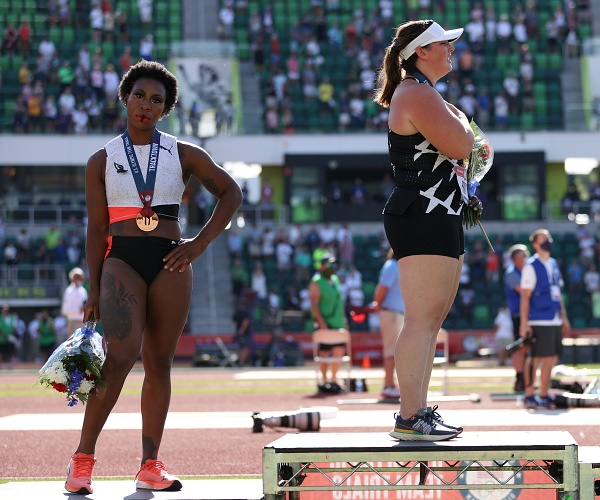 WH Defends Gwen Berry US Flag Protest at Olympic Trials