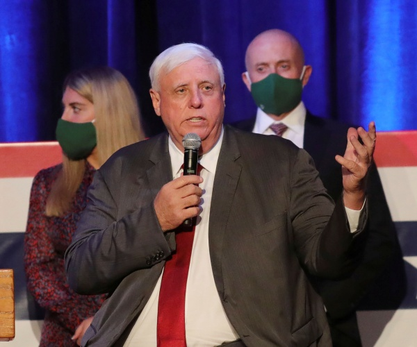 Gov. Jim Justice: W. Virginia's Vax-Resistant Residents Playing 'Death Lottery'