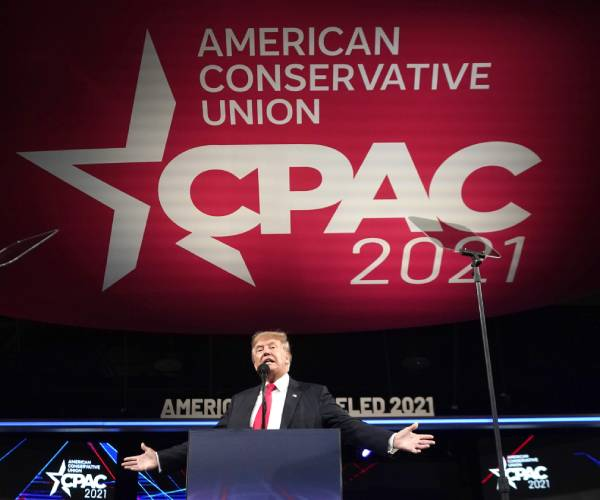 Trump to CPAC: We Will Stop Left Wing Cancel Culture