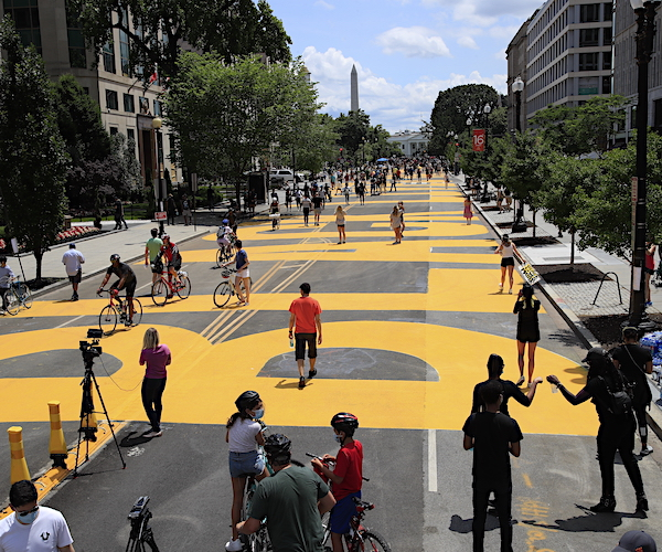 DC Mayor Says BLM Plaza Will Stay