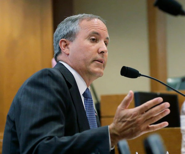 Texas AG Ken Paxton to Newsmax: People Can't Be Forced to Disclose COVID Information