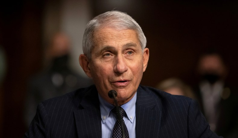 Fauci Defends U.S.-Funded Research at Wuhan Lab