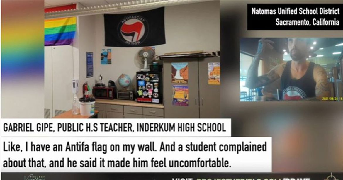 Pro-Antifa Teacher Admits to Scaring and Guilting Kids Into Being Communists – RedState