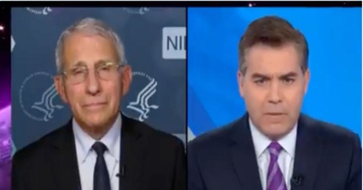 Acosta and Fauci Tag Team to Fight 'Disinformation' — as They Push Disinformation Themselves – RedState