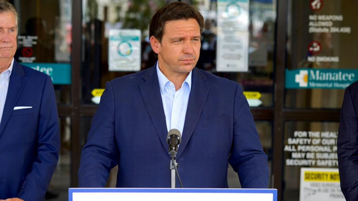 DeSantis Fires Back At Biden: He Promised To End Pandemic And Now Cases 300% Higher, Policies Failing