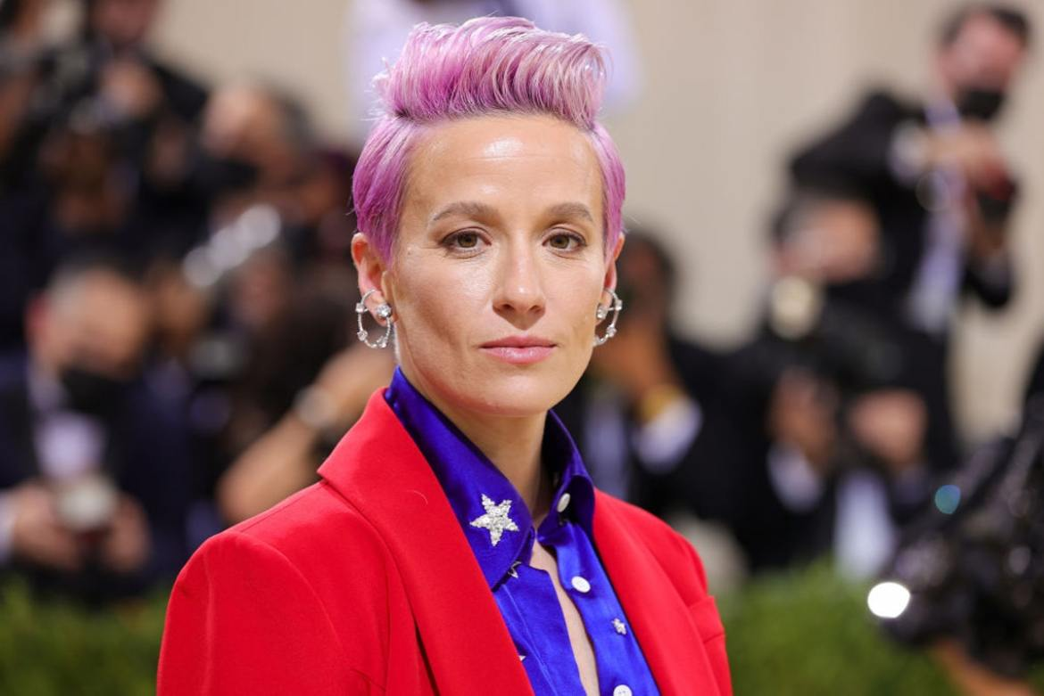 Megan Rapinoe Replaces 'God' With 'Gay' For Met Gala Outfit
