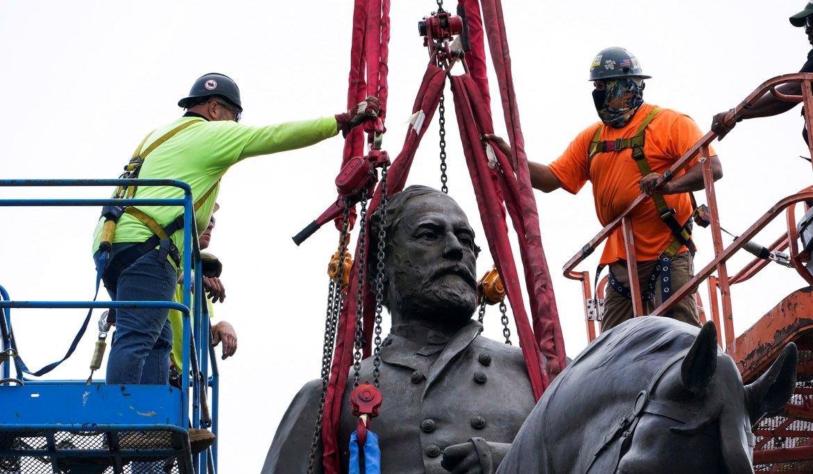 Robert E. Lee Statue Removal — Virginia Removes Monument