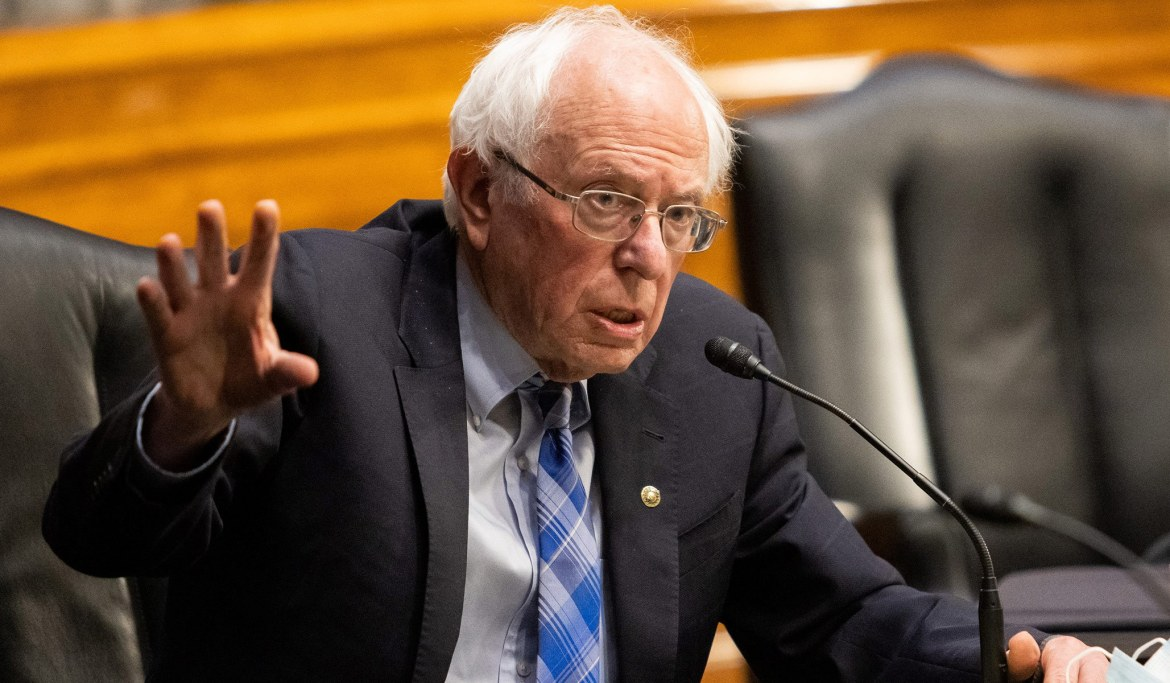 Sanders Rebukes Manchin's Downsized Ceiling for Reconciliation Bill