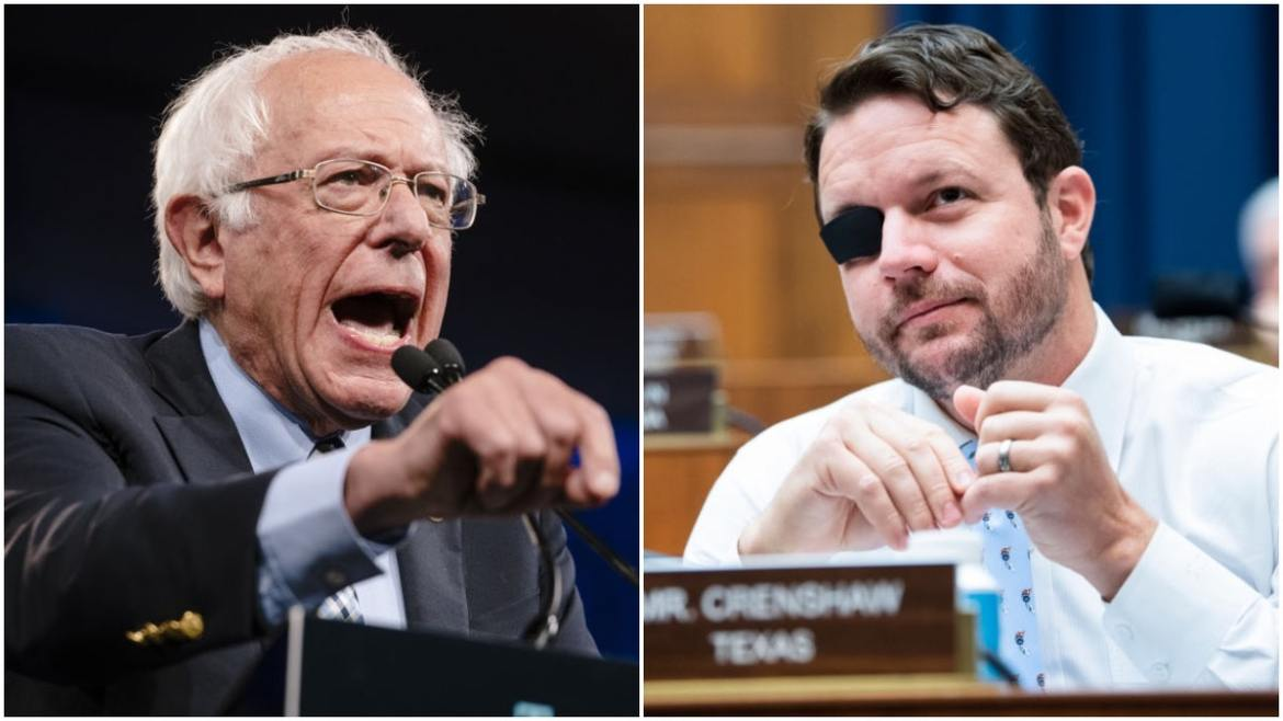 Crenshaw Blisters Bernie After Climate Rant: 'It's Actually Not About Climate Change, It's About Control'