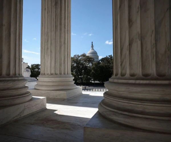 Dershowitz to Newsmax: Justices 'Good and Decent' But Still 'Political'