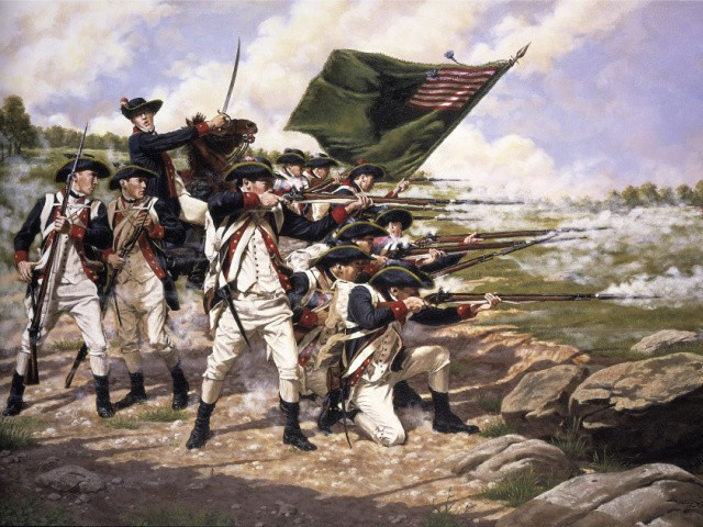 How 25 Americans Stopped an Army