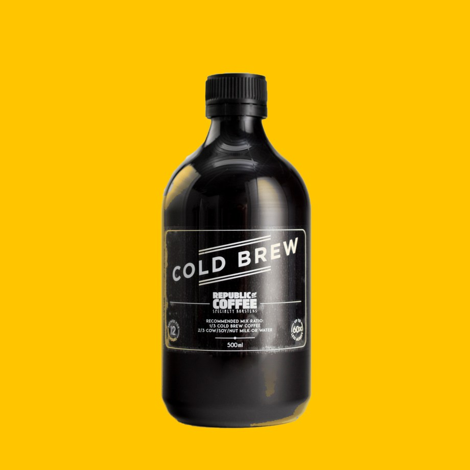 Republic of Coffee Specialty Roasters Cold Brew Coffee Concentrate