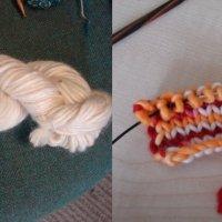 J'ai testé la teinture alimentaire pour laine