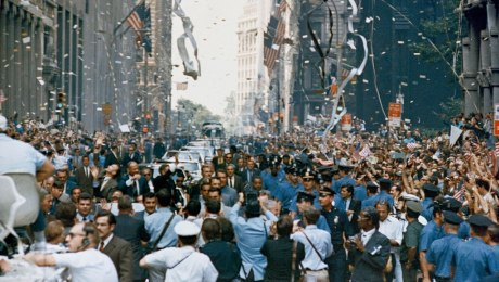 ticker tape apollo 11