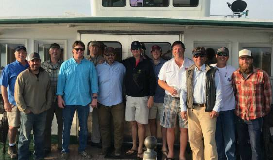 Republic Ranches & Fay Ranches Team Building with Louisiana Redfish