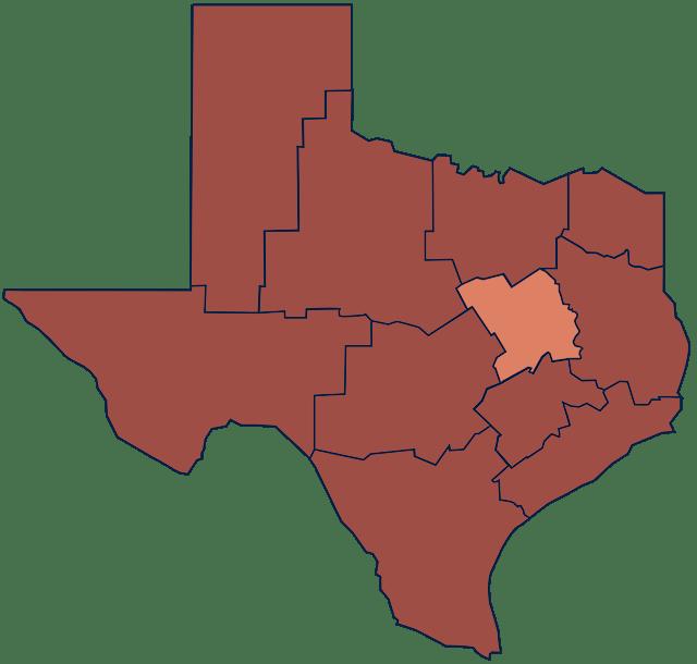 TX Blackland Prairie region