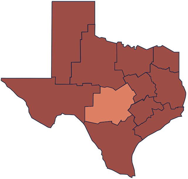 Texas Hill Country region
