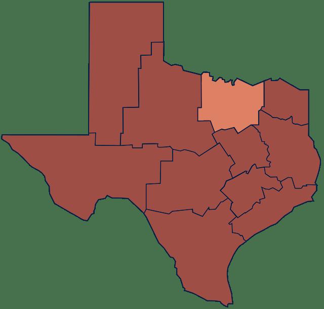 North Texas region