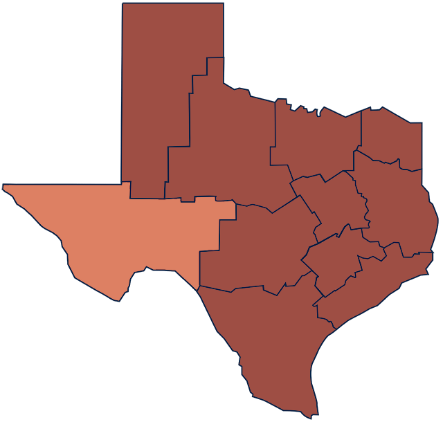 Trans Pecos and West Texas region