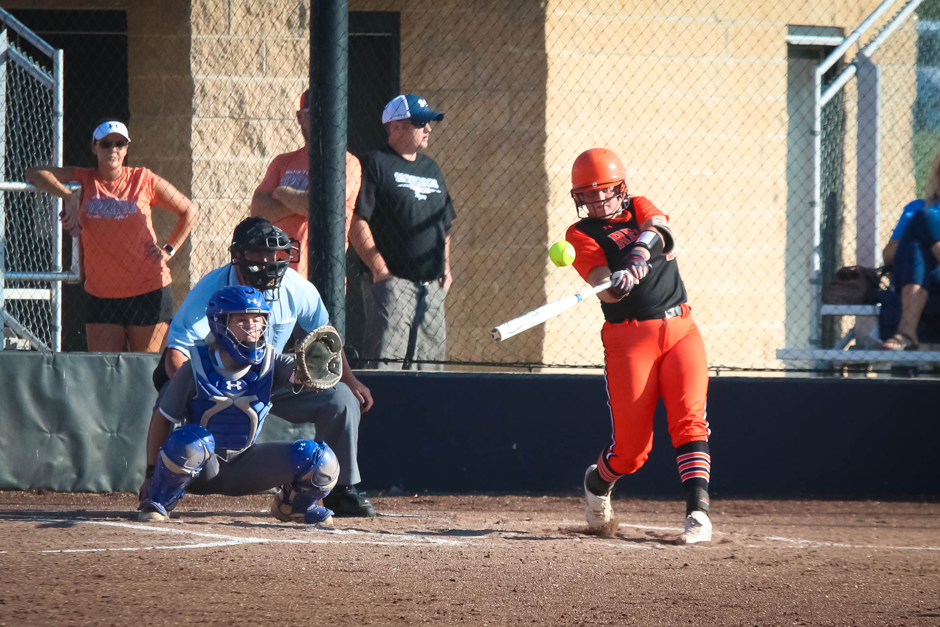 Easy As 1-2-3: Lady Tigers Wallop Three Homers In One Inning To Blast Past Carthage