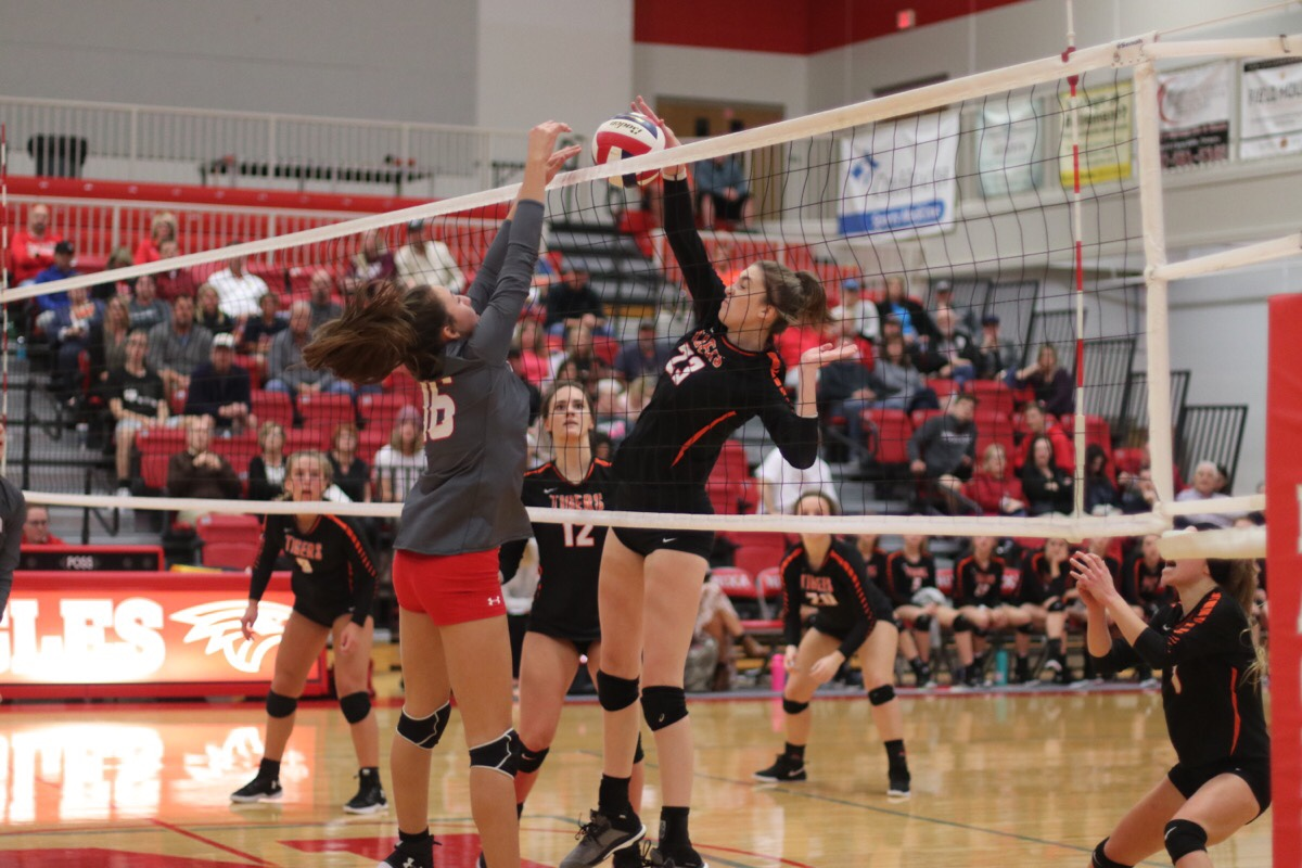District Loss Ends Volleyball Season
