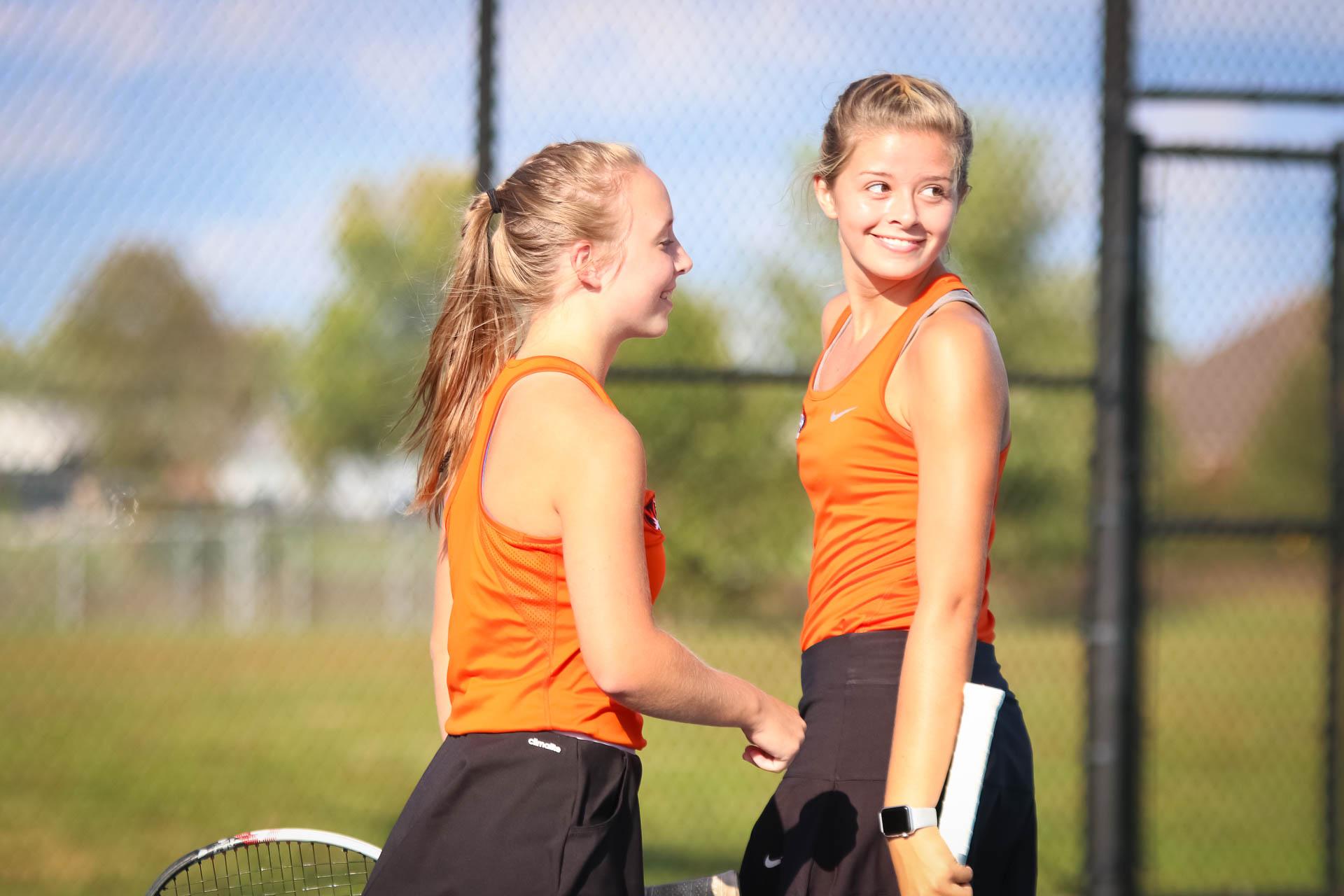 Photos:  Varsity Tennis Vs Joplin