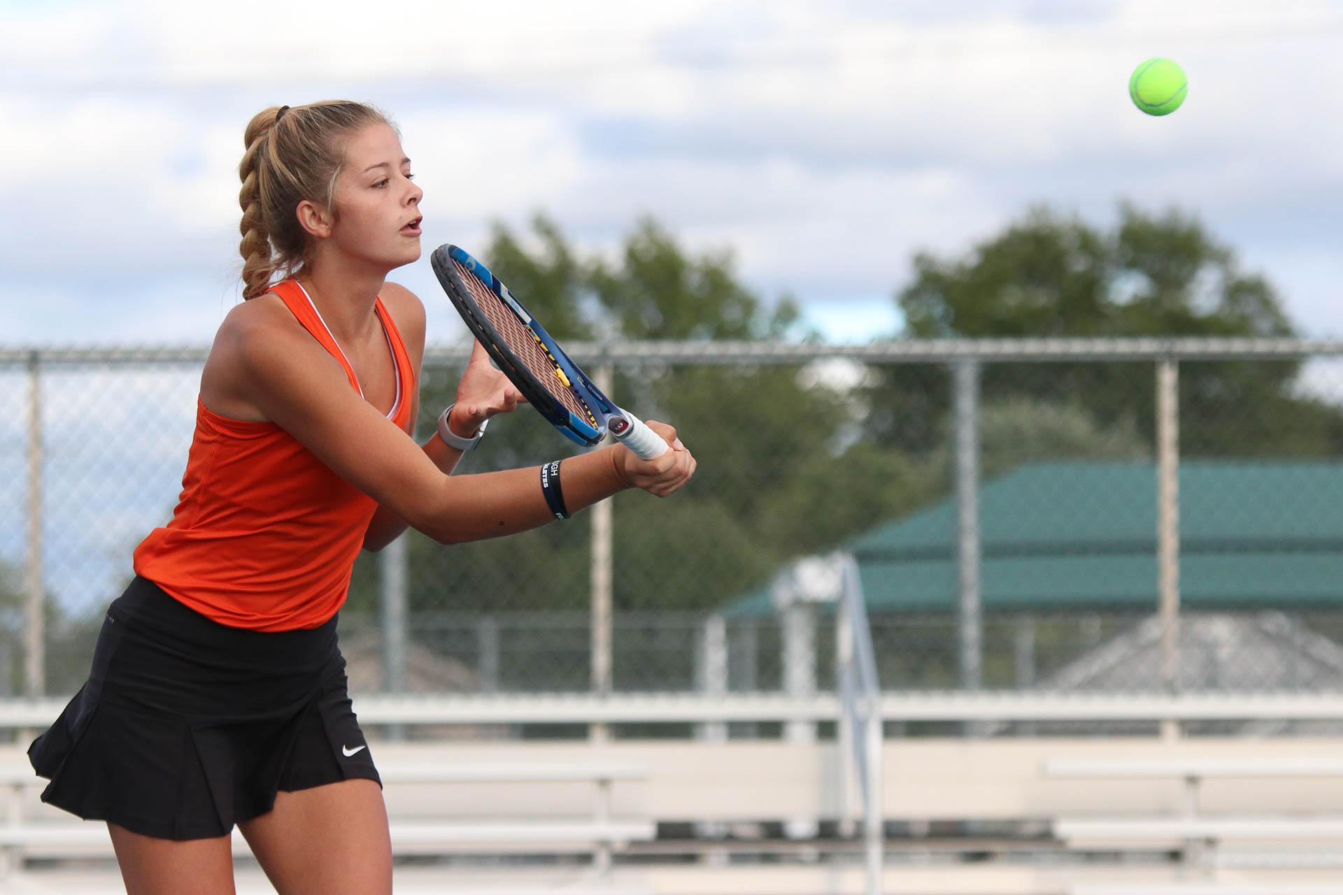 Photos: Tennis Sectionals