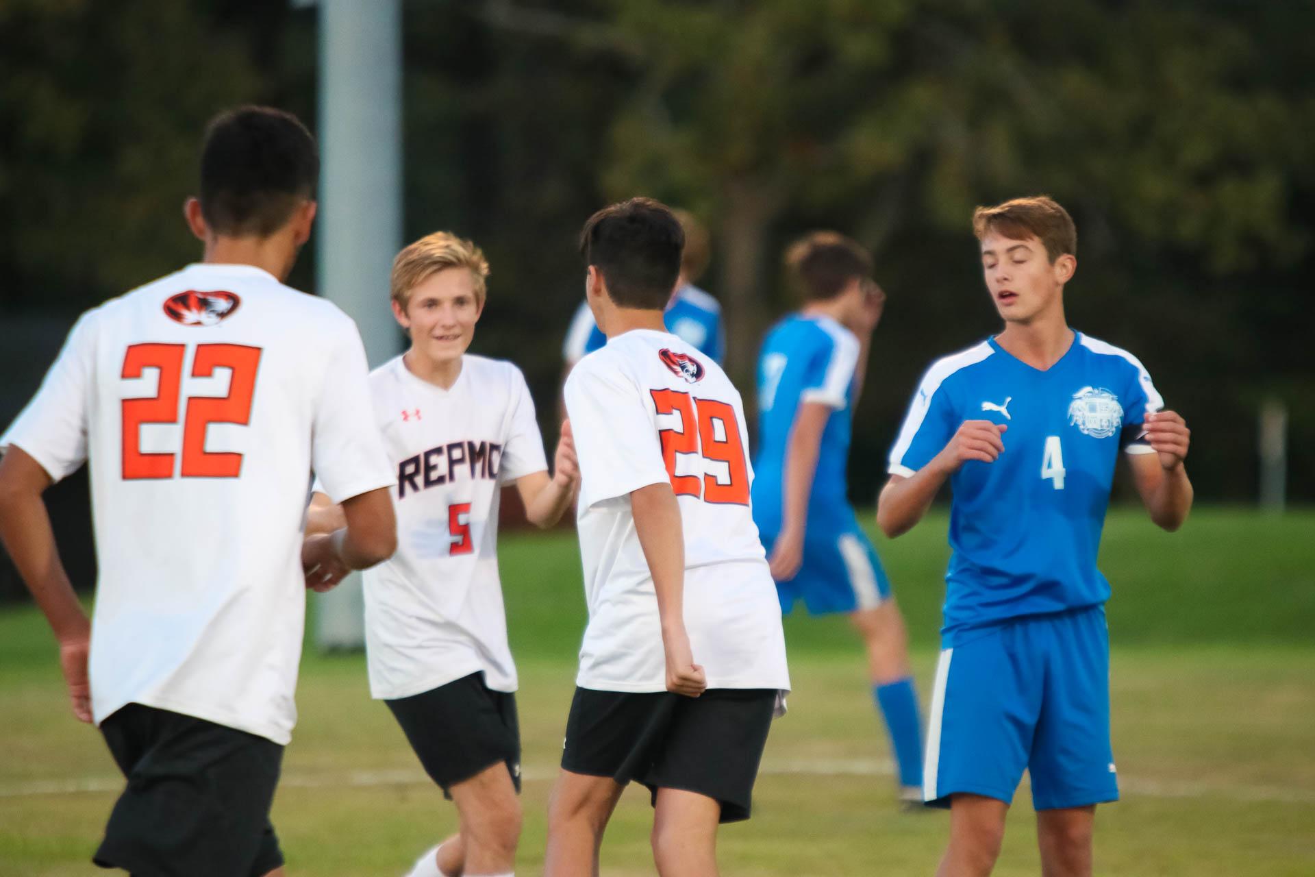 Photos:  Varsity Soccer Vs Bolivar