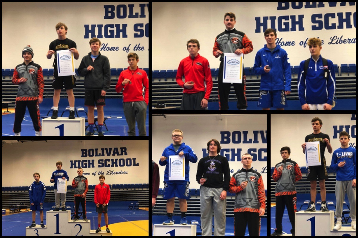 Five Tigers Medal At Bolivar Tournament