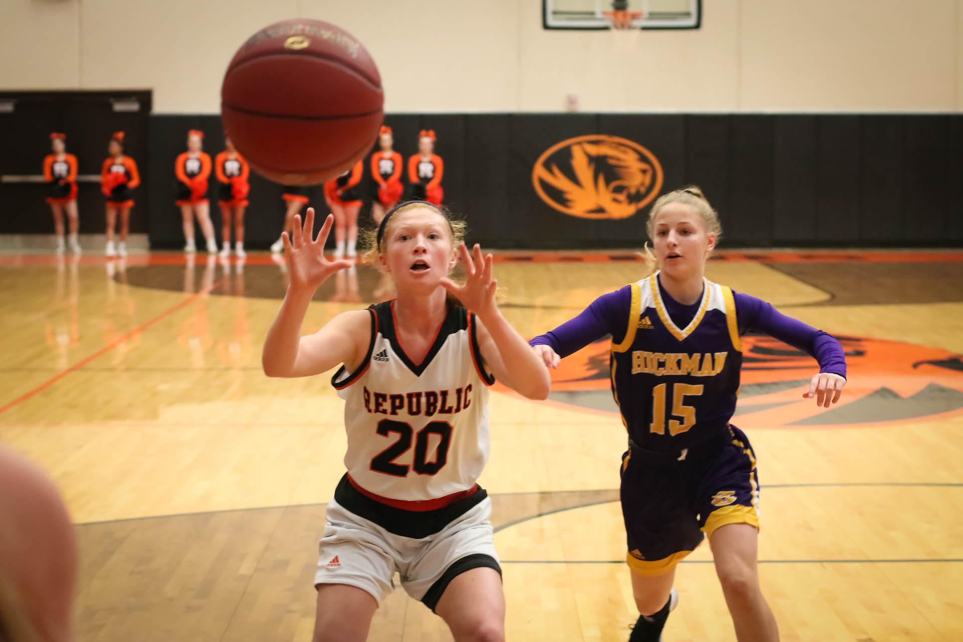 Photos:  Varsity Girls Basketball Vs Columbia Hickman