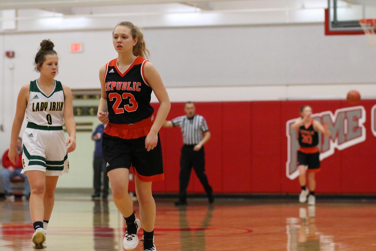 Photos:  Varsity Girls Basketball Vs Springfield Catholic