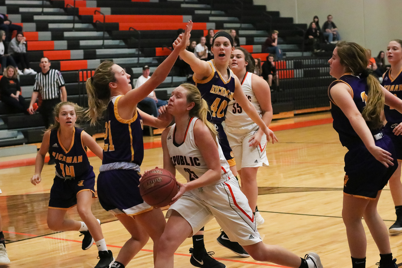 Photos:  JV Girls Basketball Vs Columbia Hickman