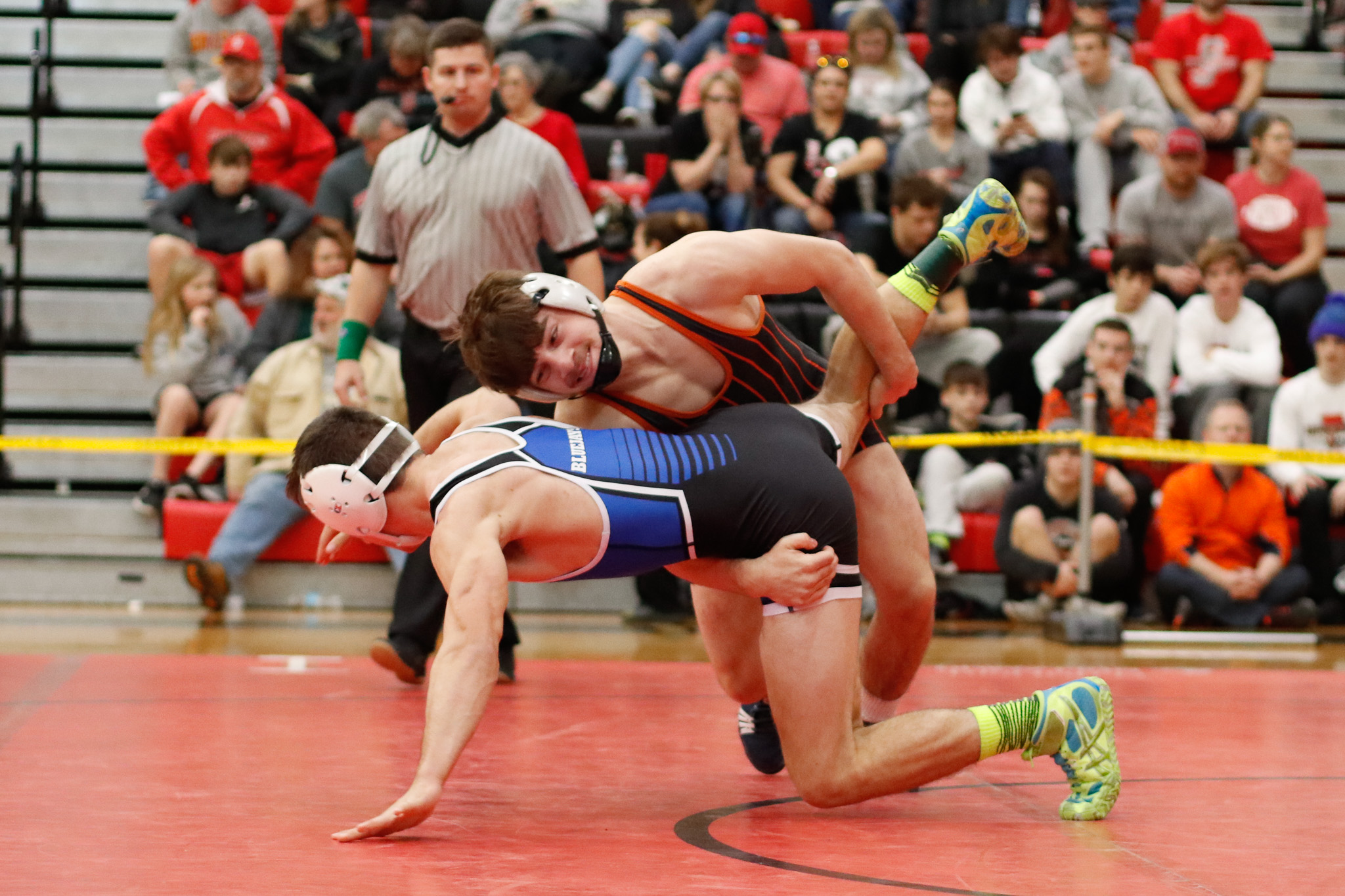 Photos:  Wrestling Districts