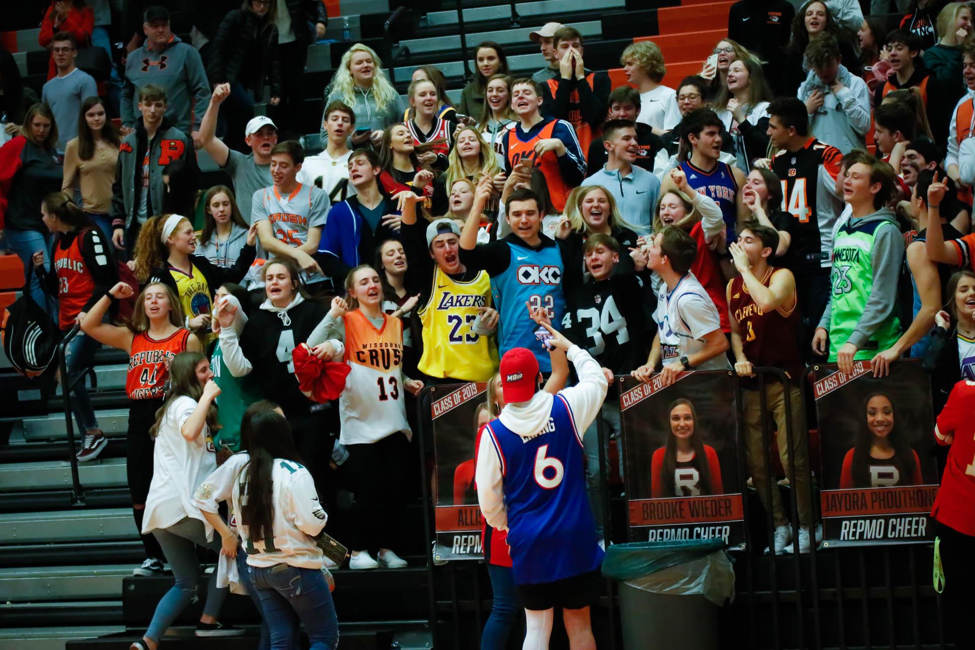 Photos:  Varsity Boys Basketball Vs Nixa (Senior Night)